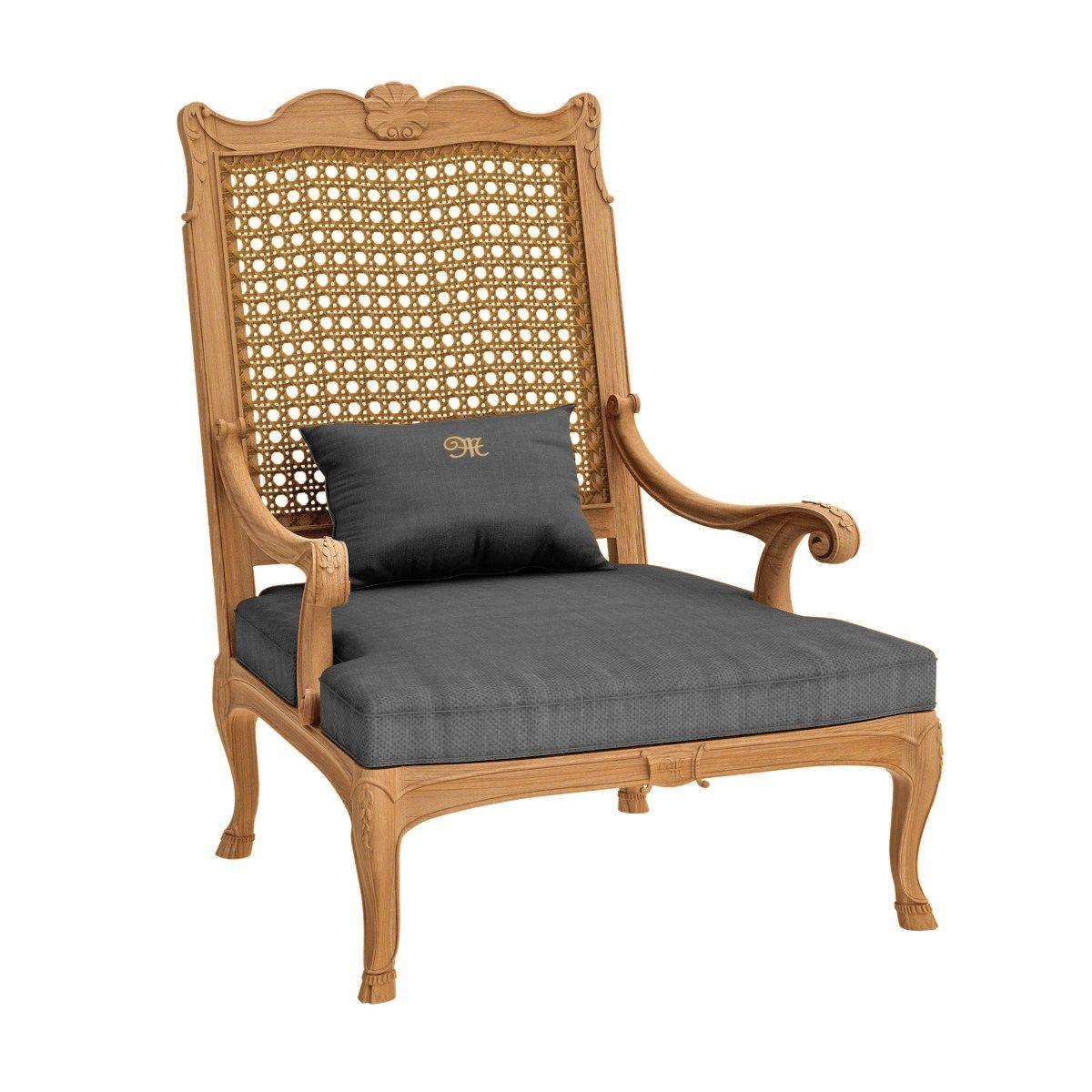 FLEUR DE LYS Bergere armchair by ASTELLO design Dominique ...