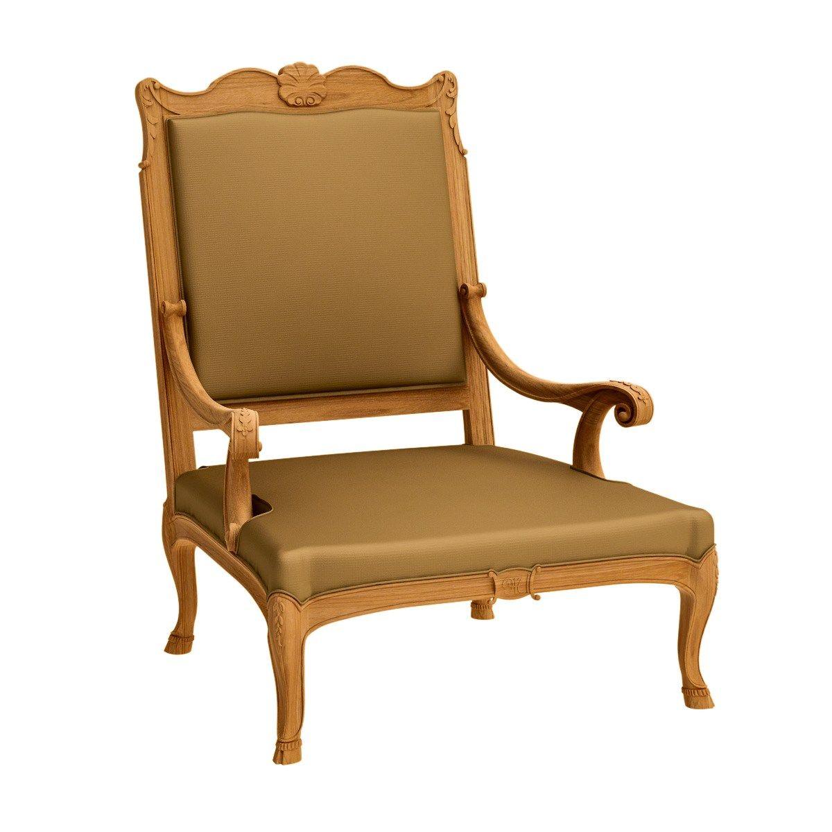 Fleur de lys fauteuil berg re by astello design dominique - Fauteuil bergere design ...