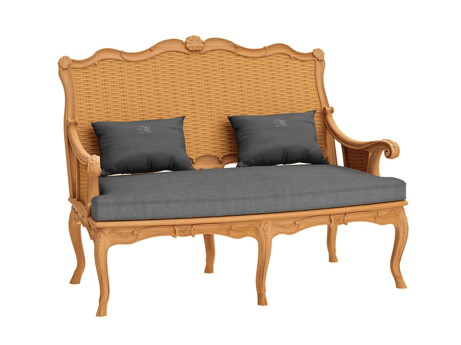 Fleur De Lys Garden Sofa By Astello Design Dominique Malcor Thierry Massant