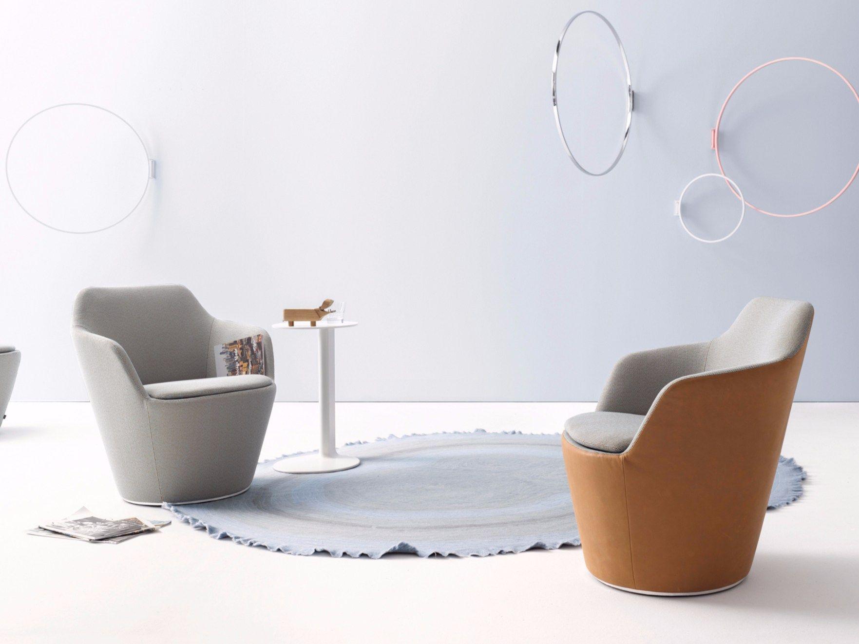 loungesessel mit armlehnen flint by cor sitzm bel helmut l bke design jehs laub. Black Bedroom Furniture Sets. Home Design Ideas