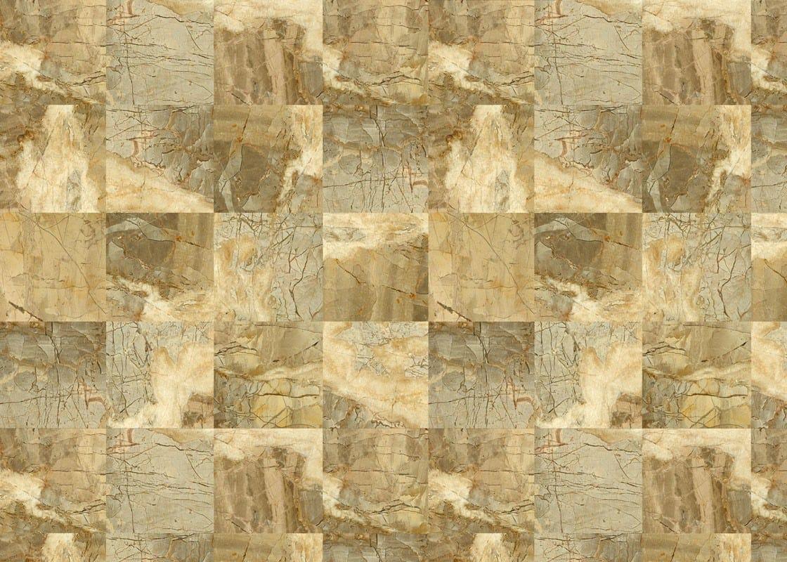 papel pintado para suelo efecto piedra flo