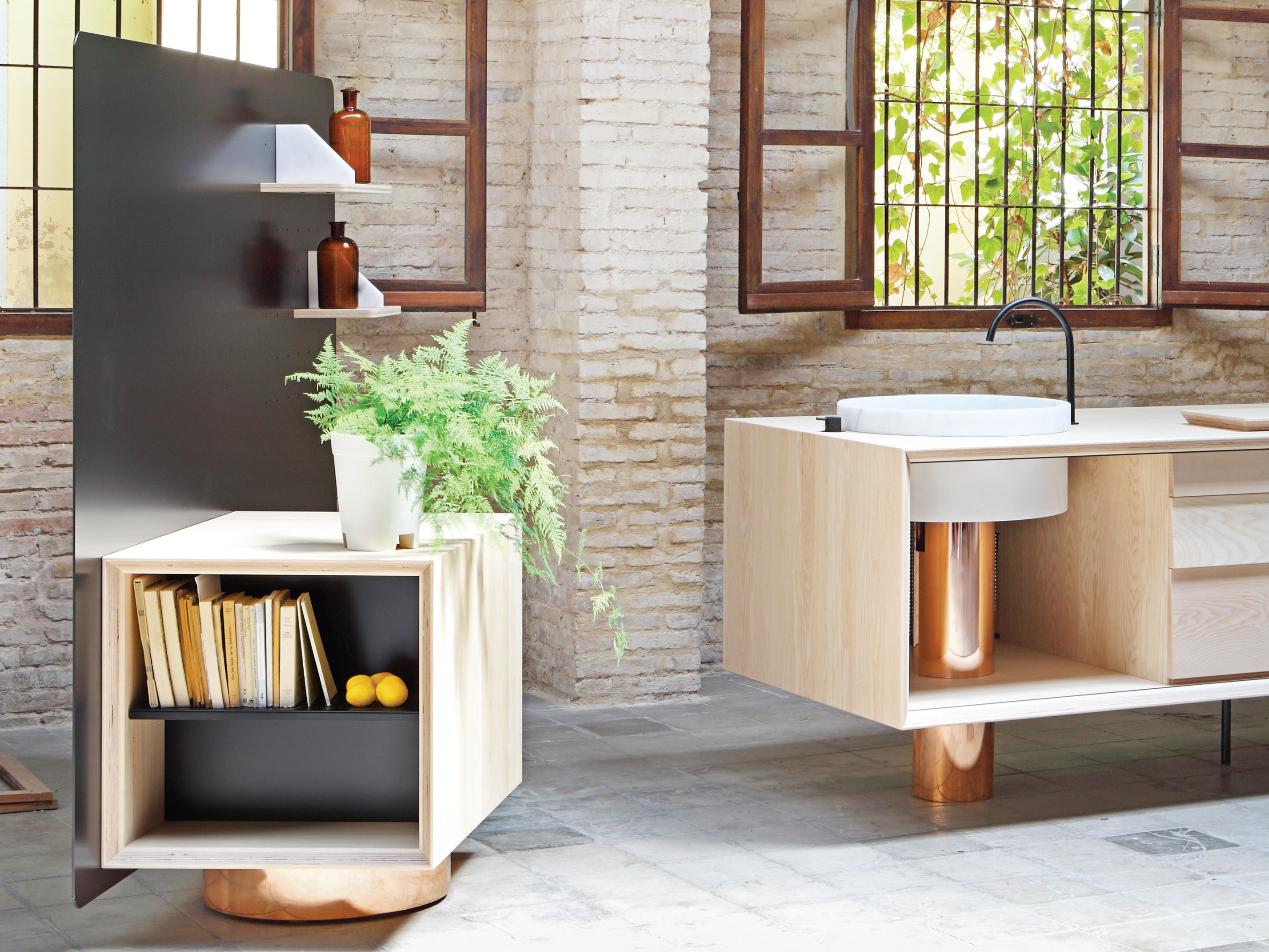 FLOAT Minicucina by Miras design Alberto Sanchez