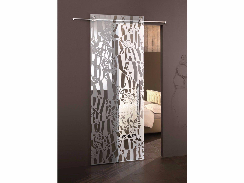 Porte coulissante en verre flos transparent by casali - Costo porta scorrevole vetro ...