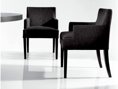 chaise avec accoudoir fly meuble de salon contemporain. Black Bedroom Furniture Sets. Home Design Ideas