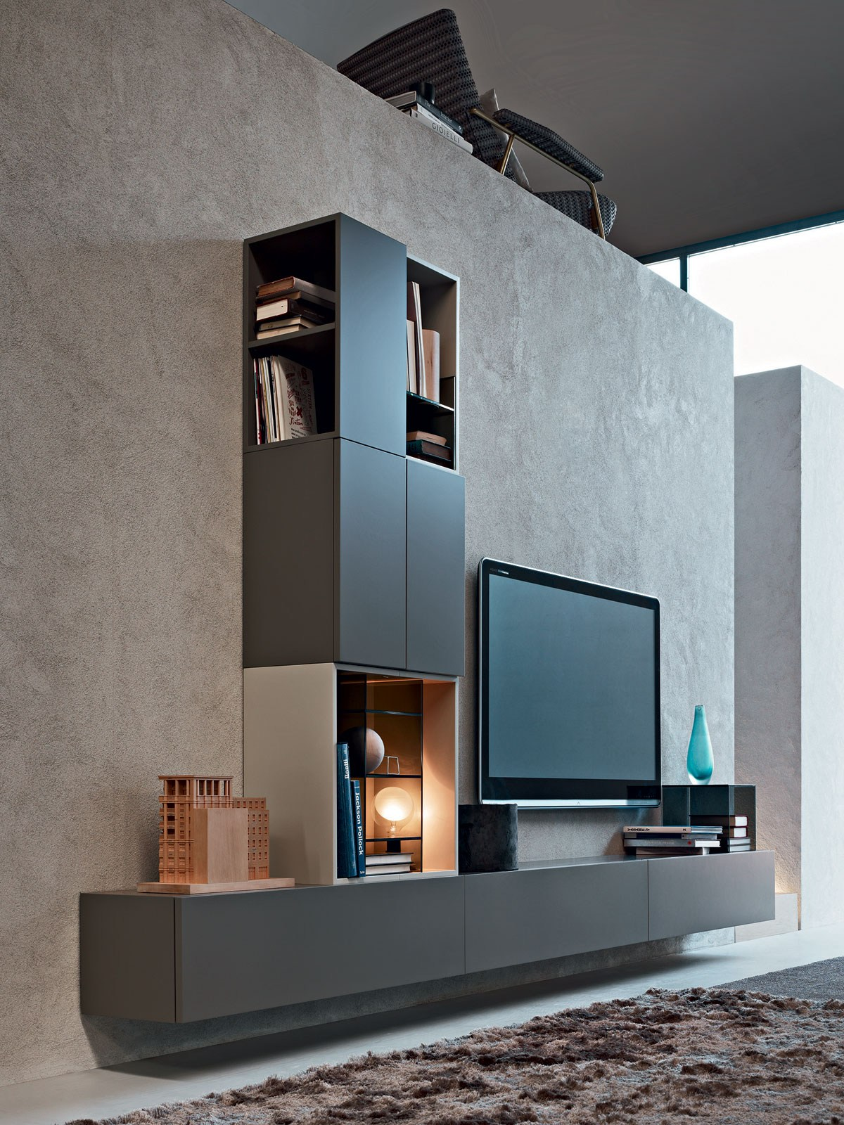 Fortepiano Sectional Storage Wall By Molteni Amp C