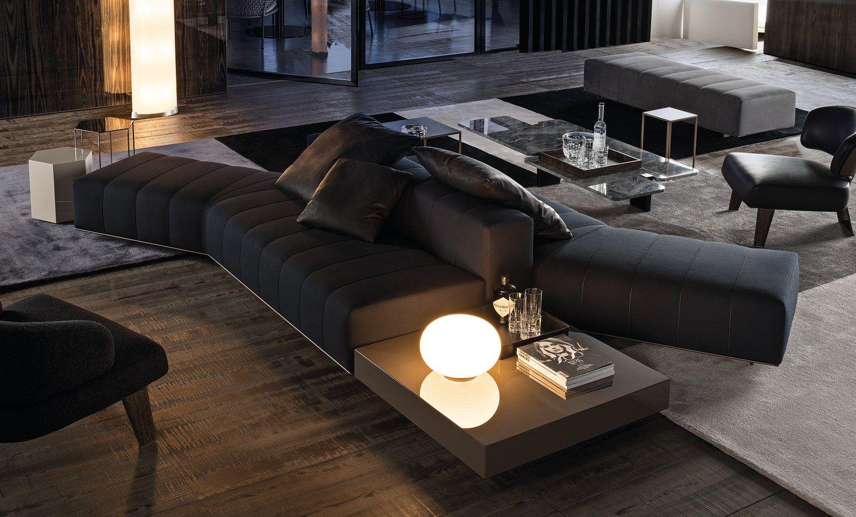 Divano freeman lounge by minotti design rodolfo dordoni for Divano minotti