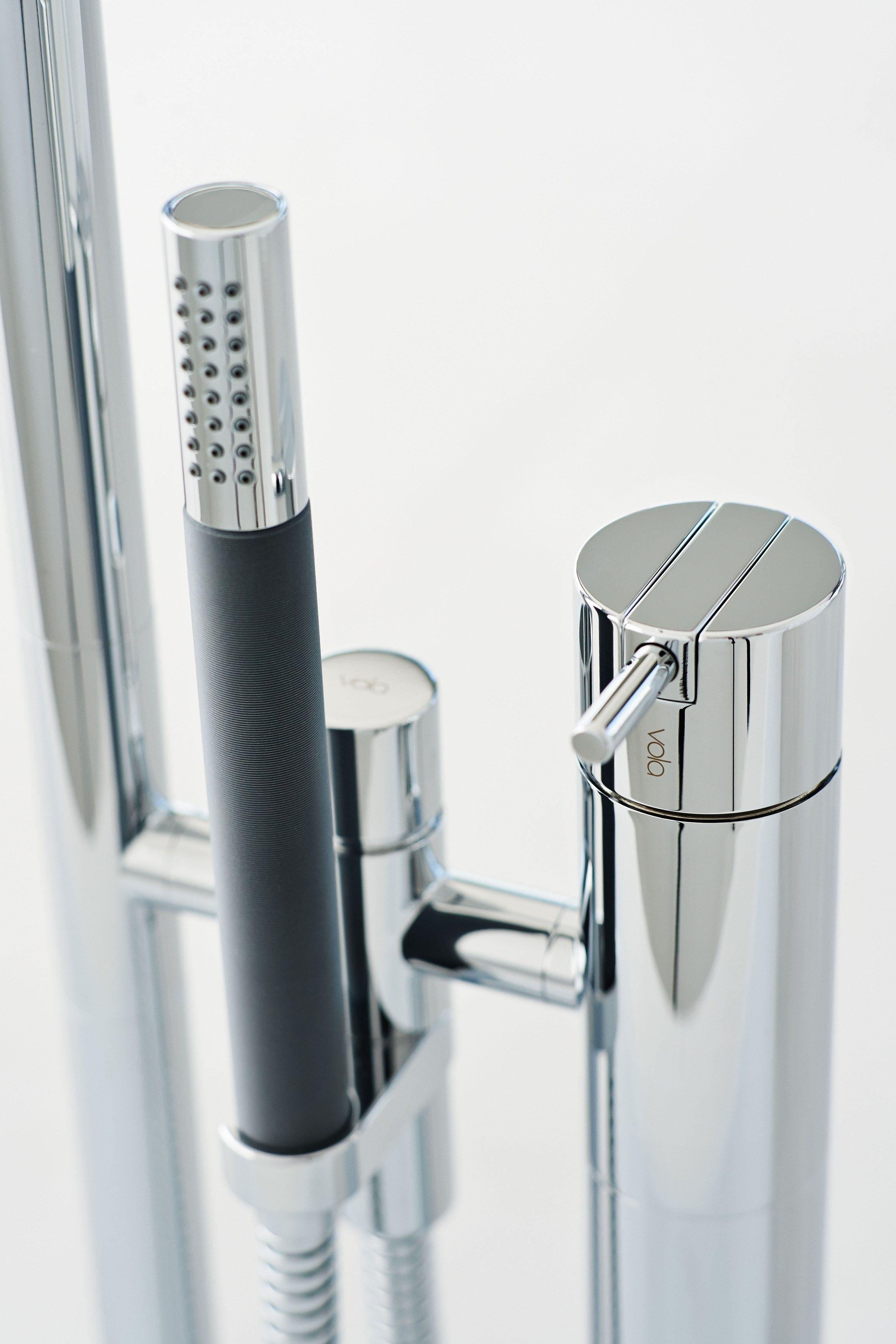 Vola: FS1 Bathtub Mixer By VOLA