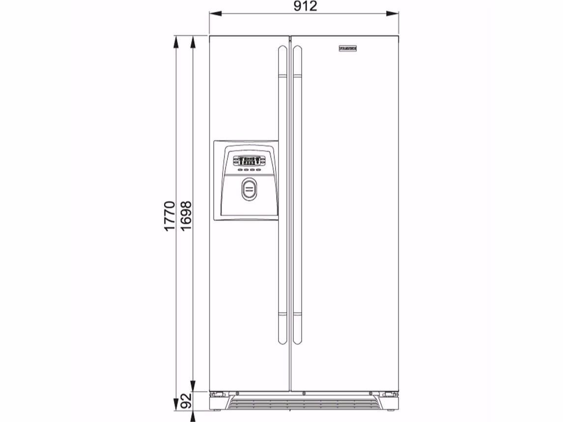frigo americano dimensioni tovaglioli di carta