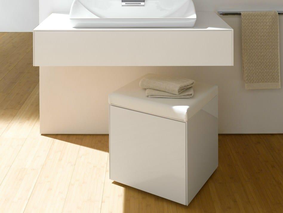 Sgabello per bagno in mdf fu10005a mb sgabello per for Sgabello bagno design