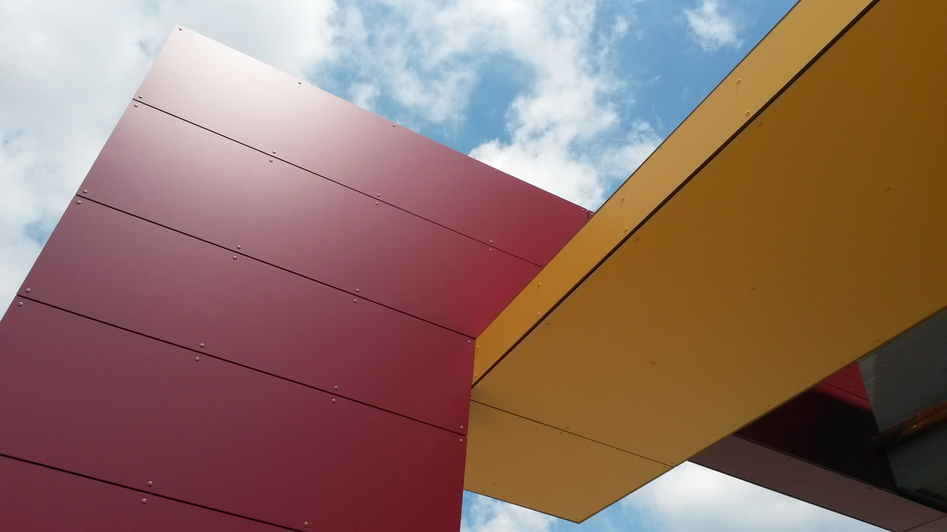 Opaque Plastic Laminate Wall Panel Fundermax Exterior By