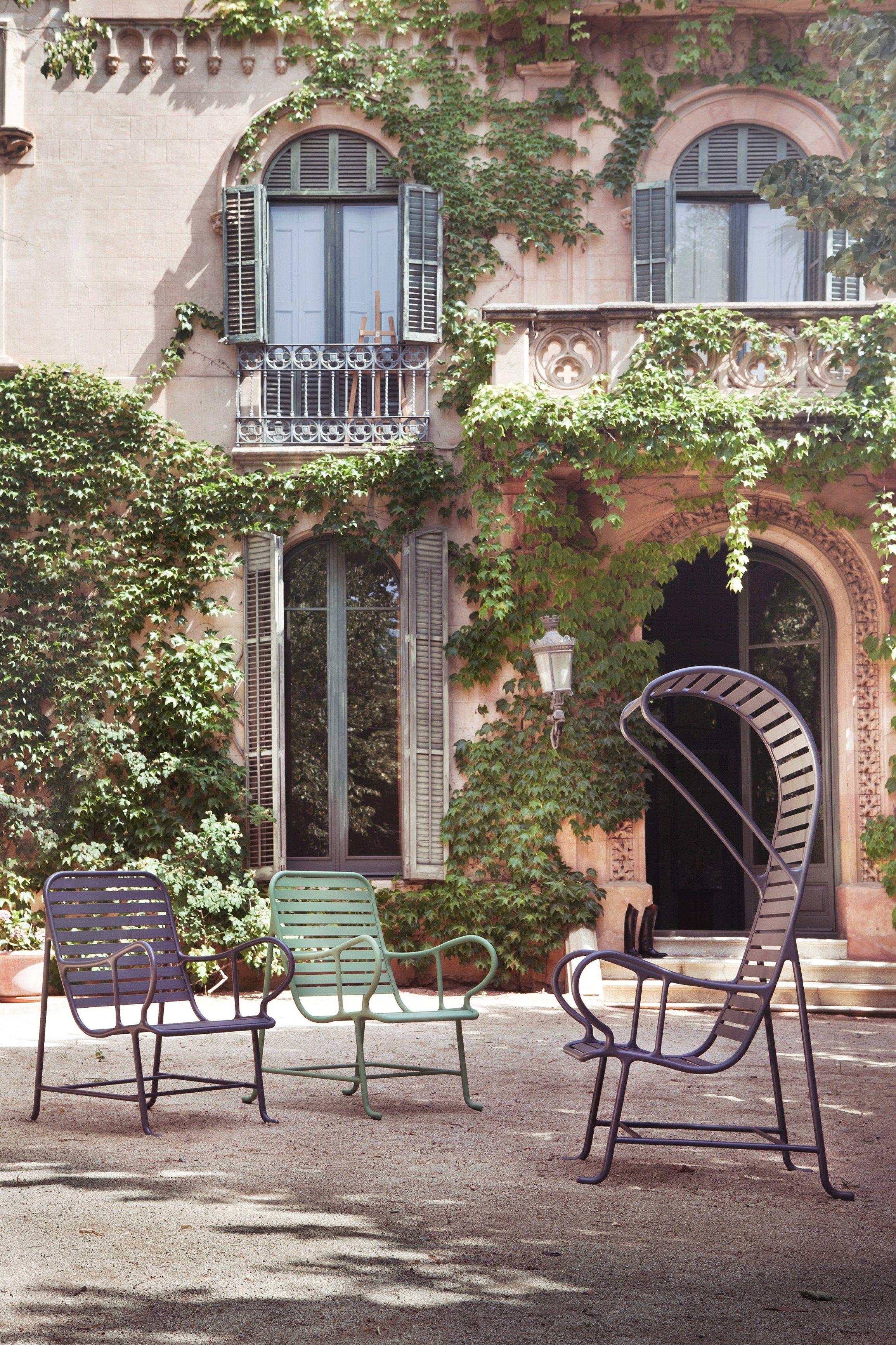Gardenias poltrona da giardino by bd barcelona design - Gardenia pianta da giardino ...