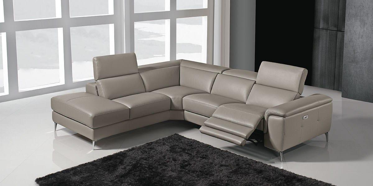 Divano angolare reclinabile genisia by franco ferri italia for Modelli salotti moderni