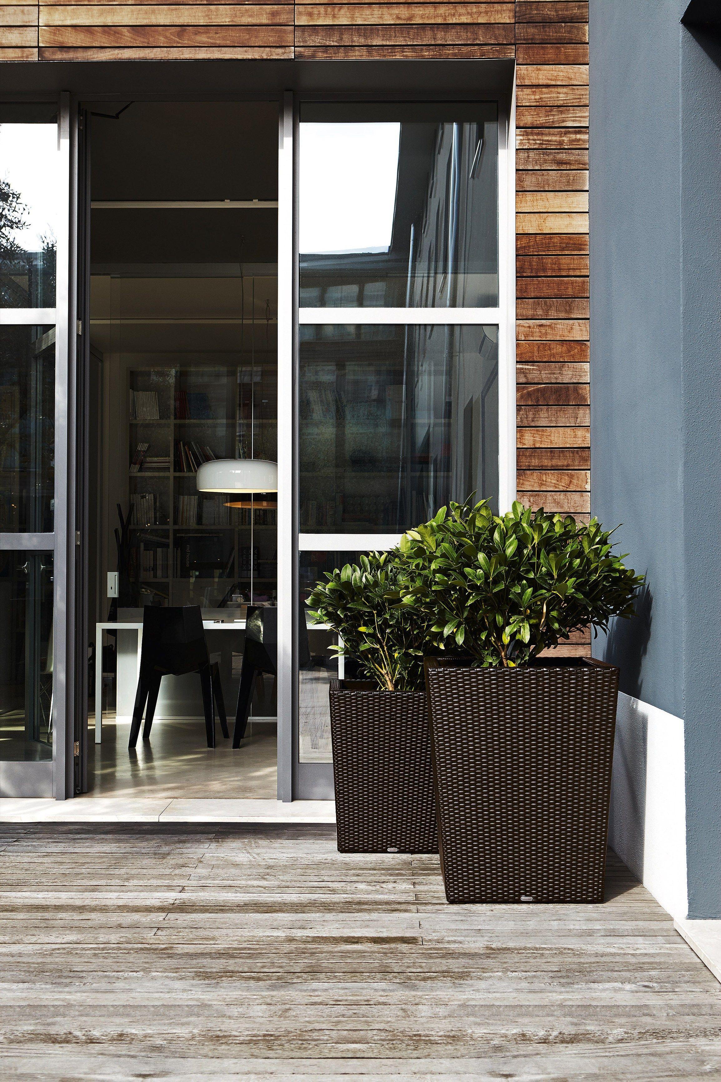 Giada jardini re haute by varaschin - Jardiniere rectangulaire haute ...