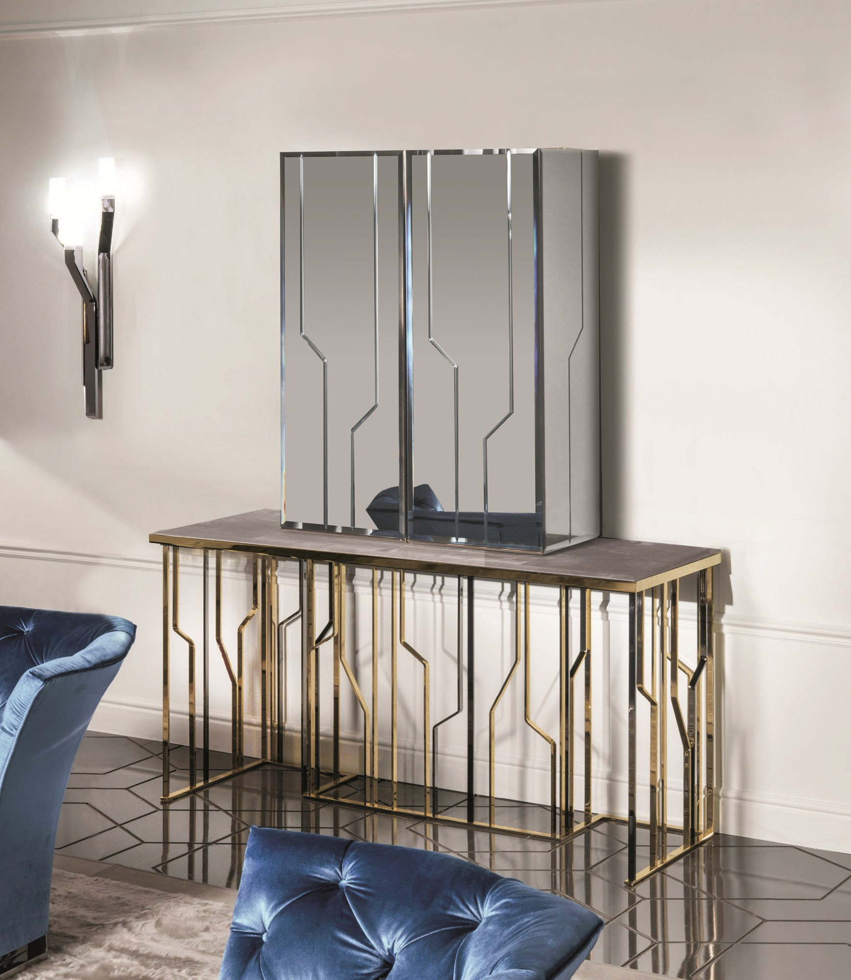 Bar Cabinet GINZA BAR By Fratelli Longhi Design Alessandro