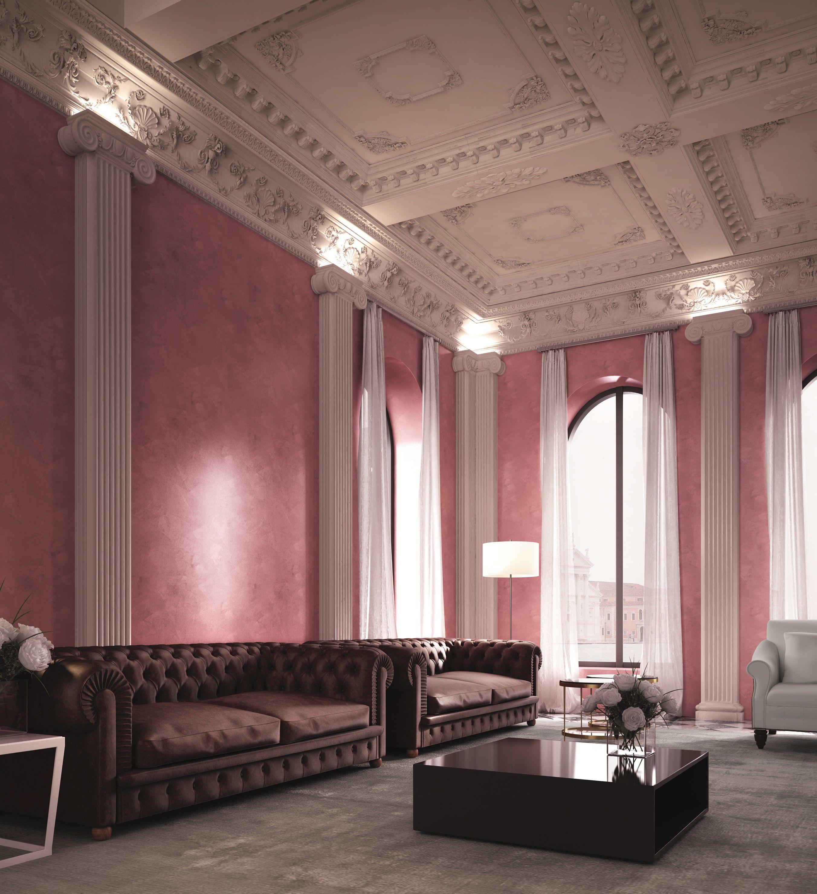 Classica decorazione d 39 epoca per interno grassello di for Colorificio san marco