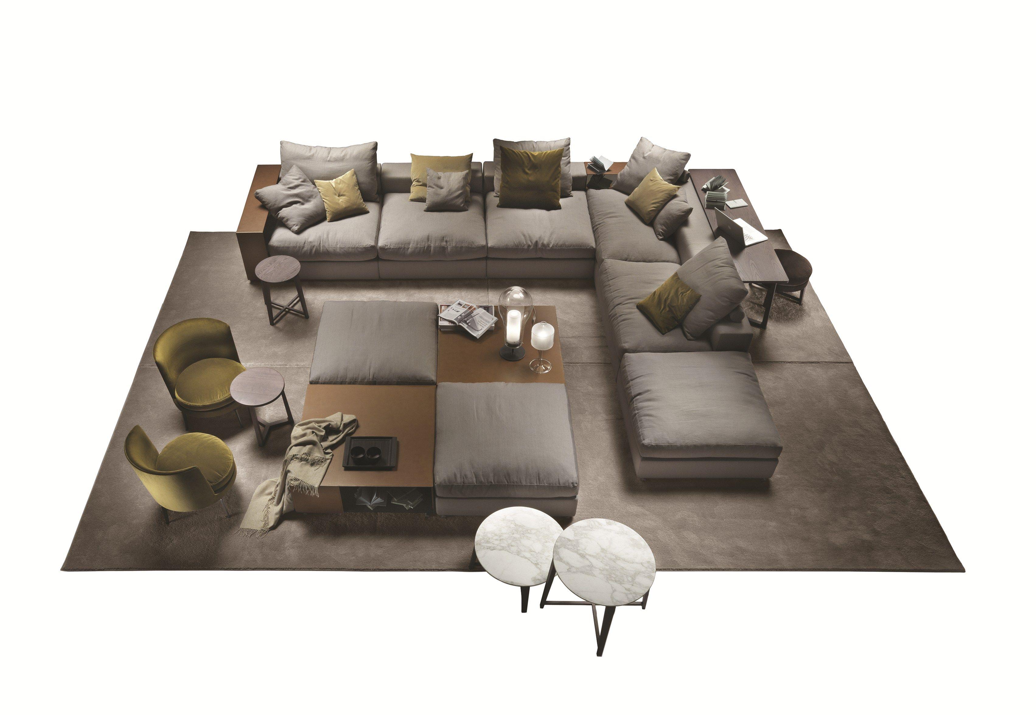 Groundpiece Sectional Sofa By Flexform Design Antonio Citterio