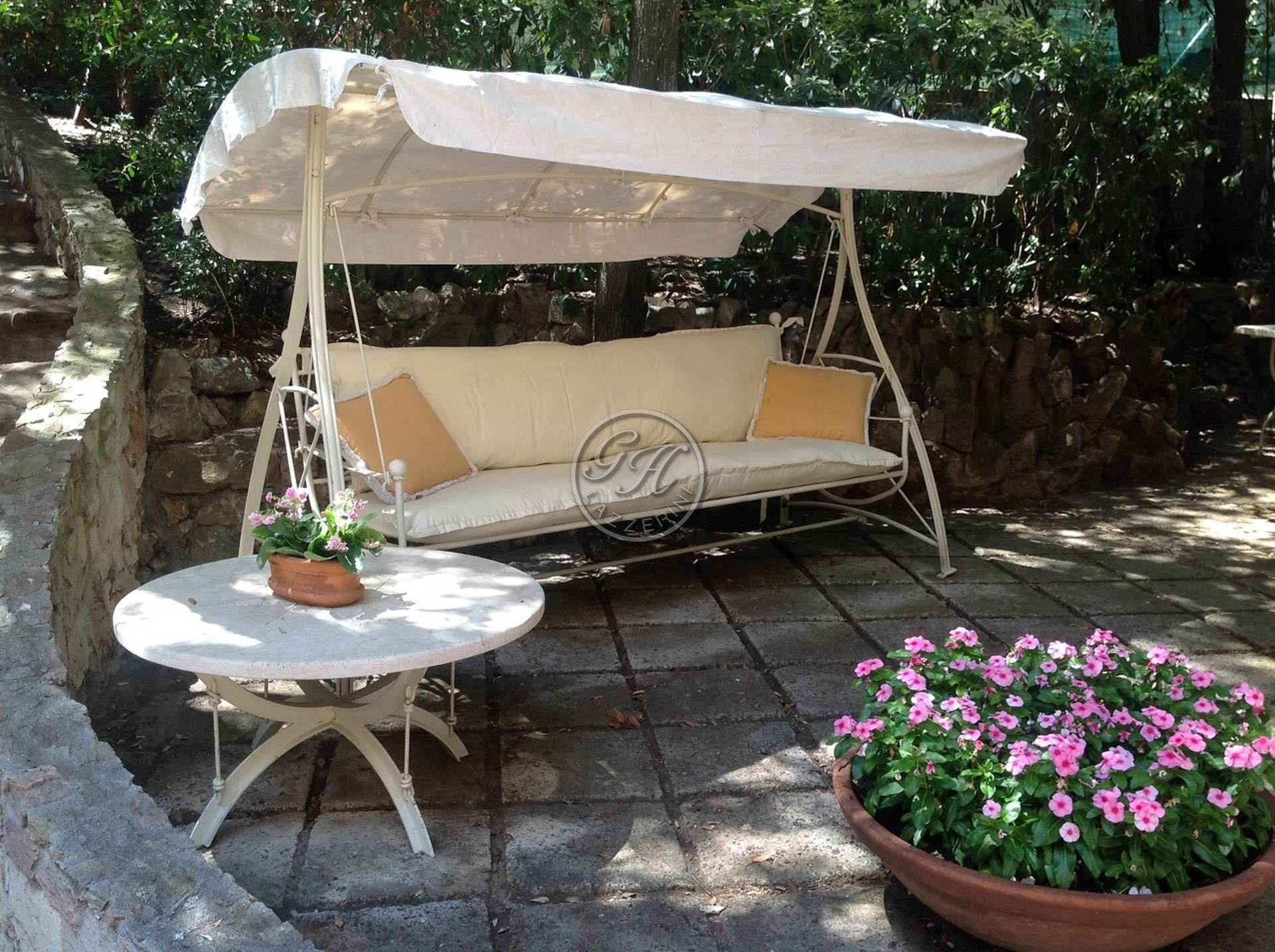 Garden Swing Seat 2 By Gh Lazzerini
