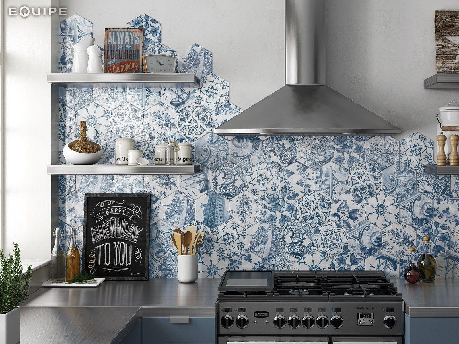 Hexatile pavimento rivestimento by equipe ceramicas - Equipe ceramicas ...
