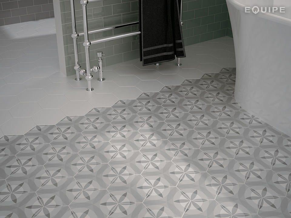 hexatile pavimento rivestimento by equipe ceramicas. Black Bedroom Furniture Sets. Home Design Ideas
