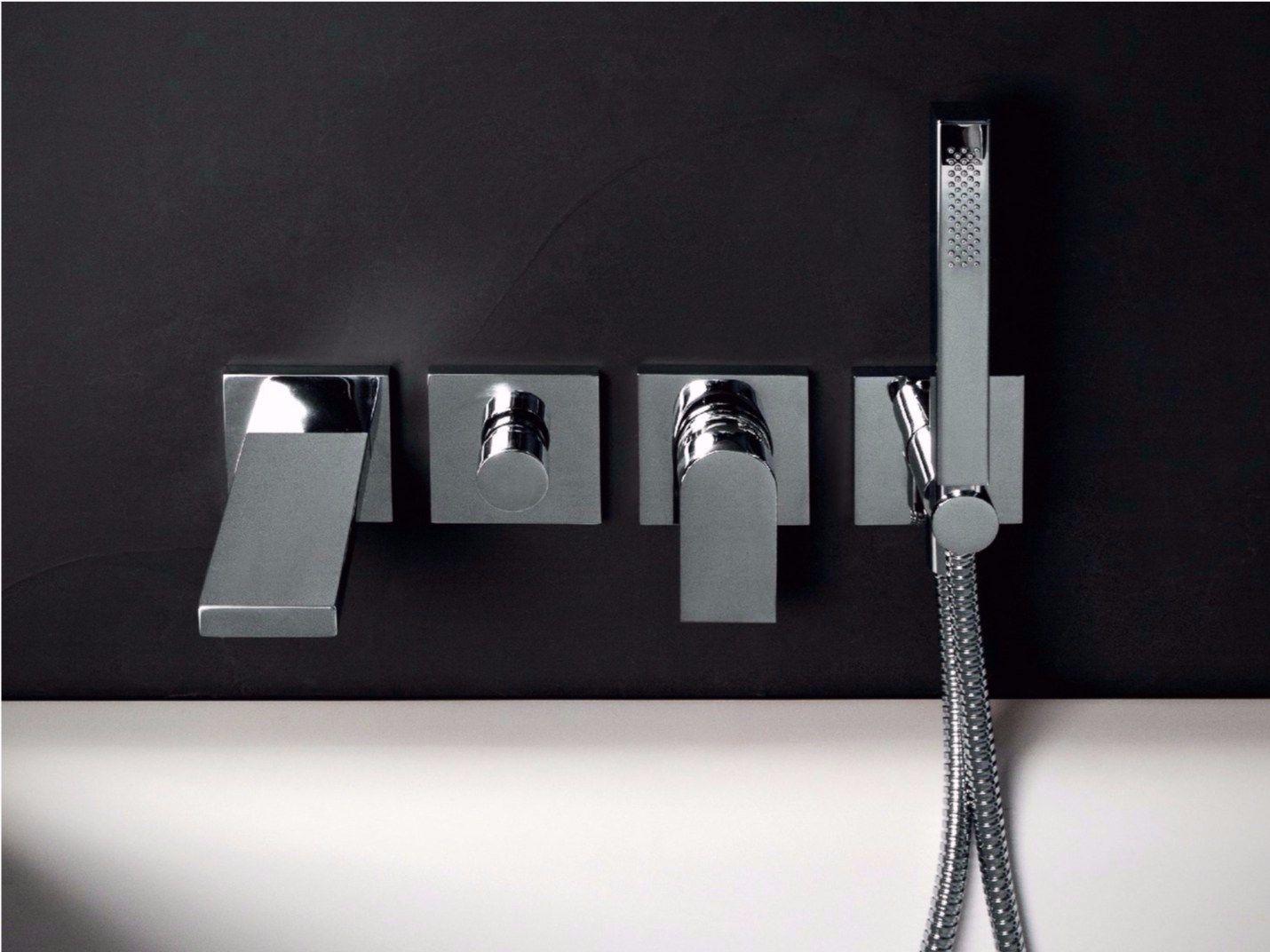 Him robinet pour baignoire by zucchetti design ludovica for Robinet baignoire mural