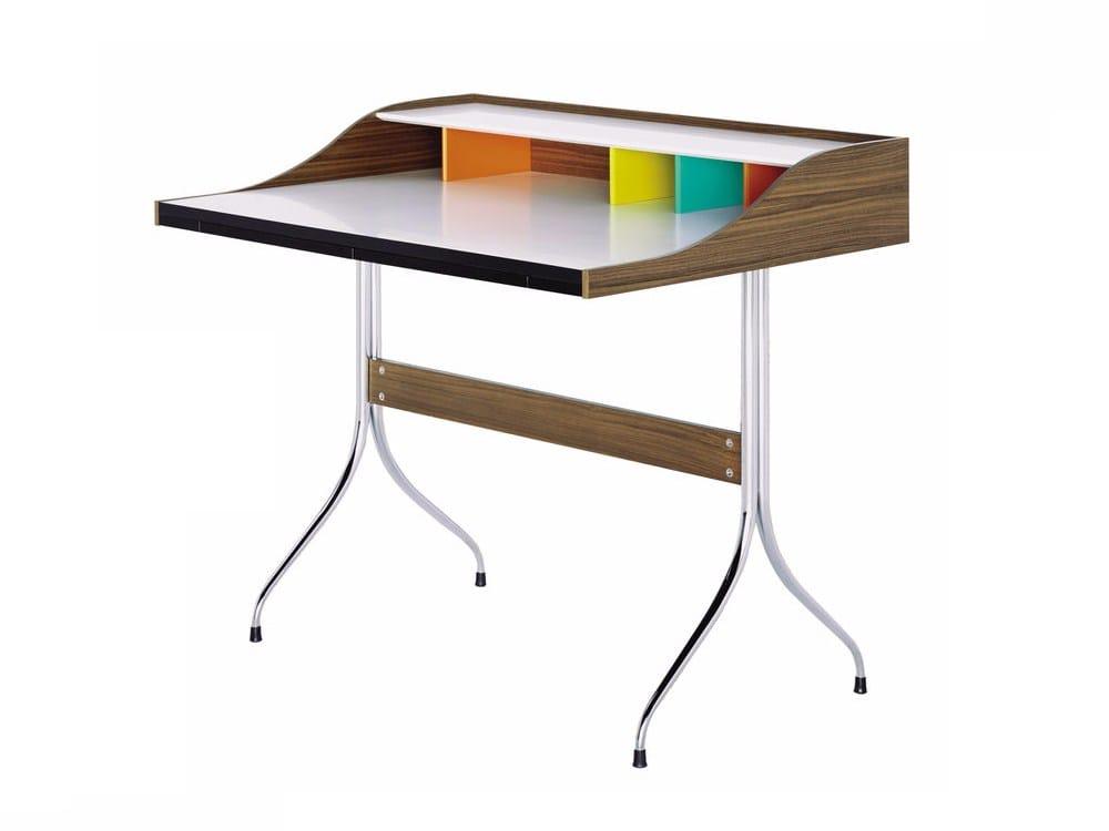 Scrittoio in laminato home desk by vitra design george nelson for Vitra home desk replica