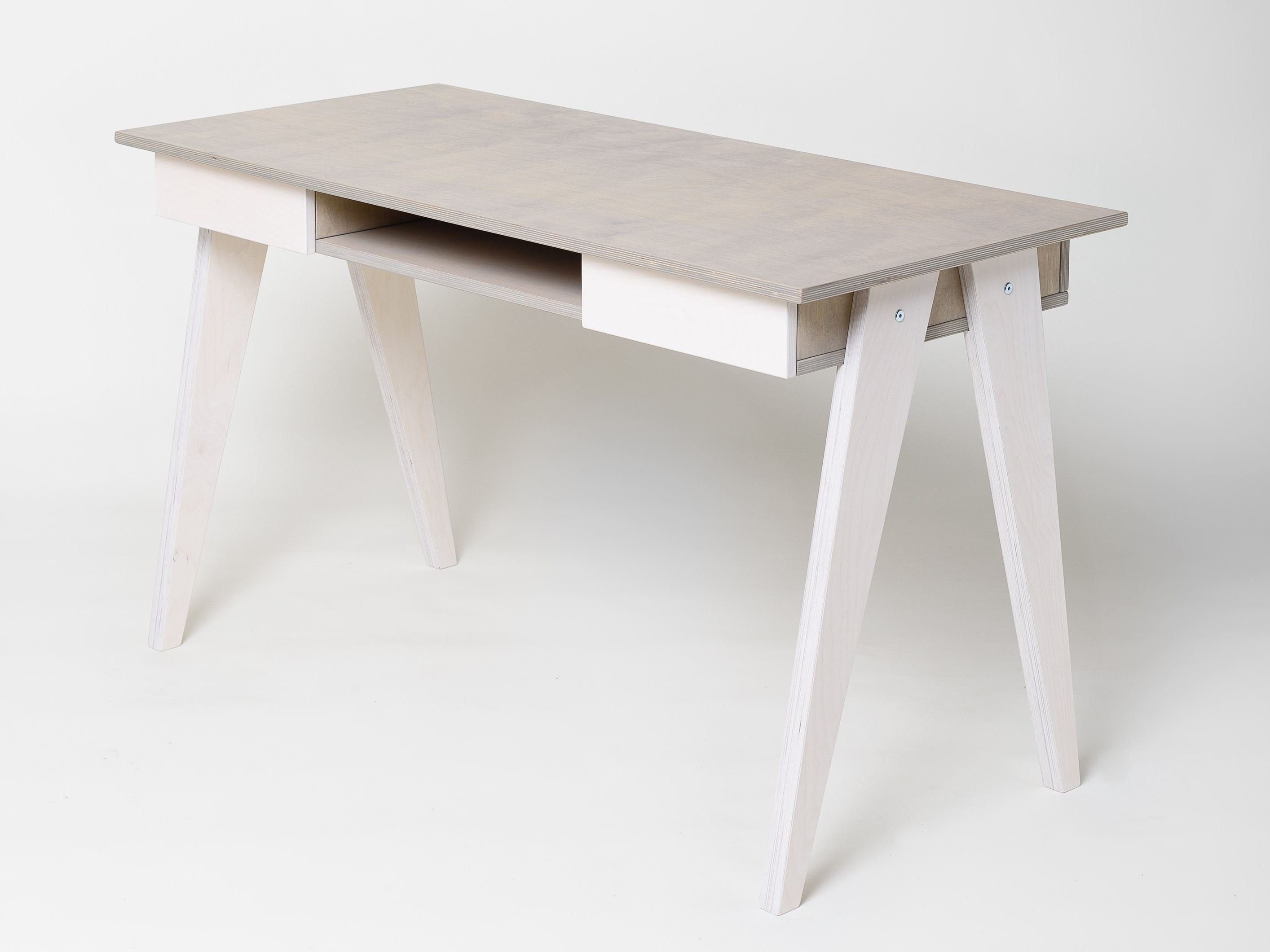 huh  writing desk with drawers by radis -