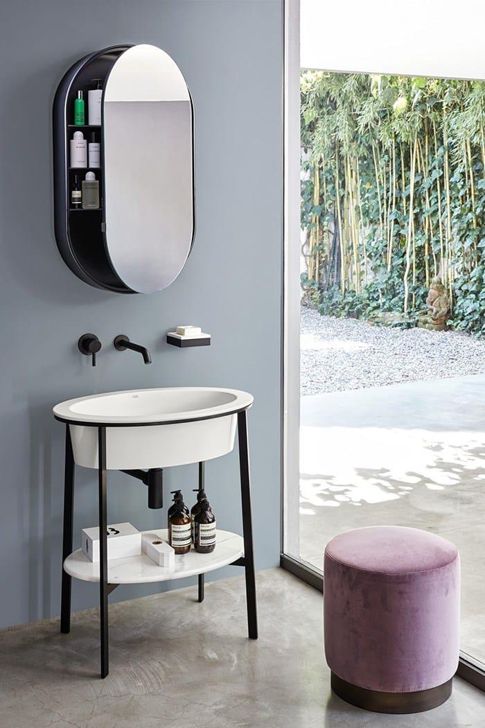 Catino ovale collezione i catini by ceramica cielo design - Bathroom items that start with l ...