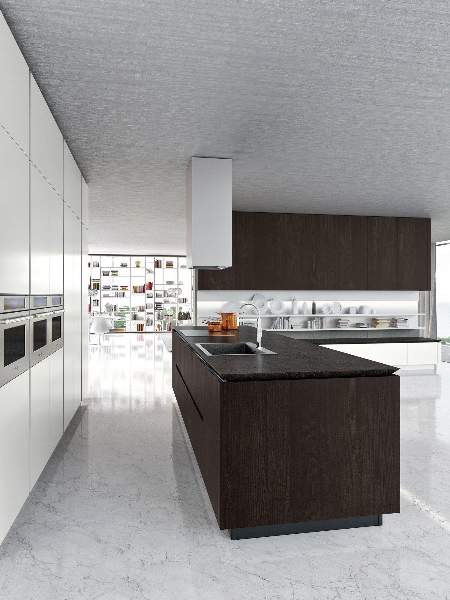 Idea cucina con isola by snaidero design pininfarina - Cucina italiana moderna ...