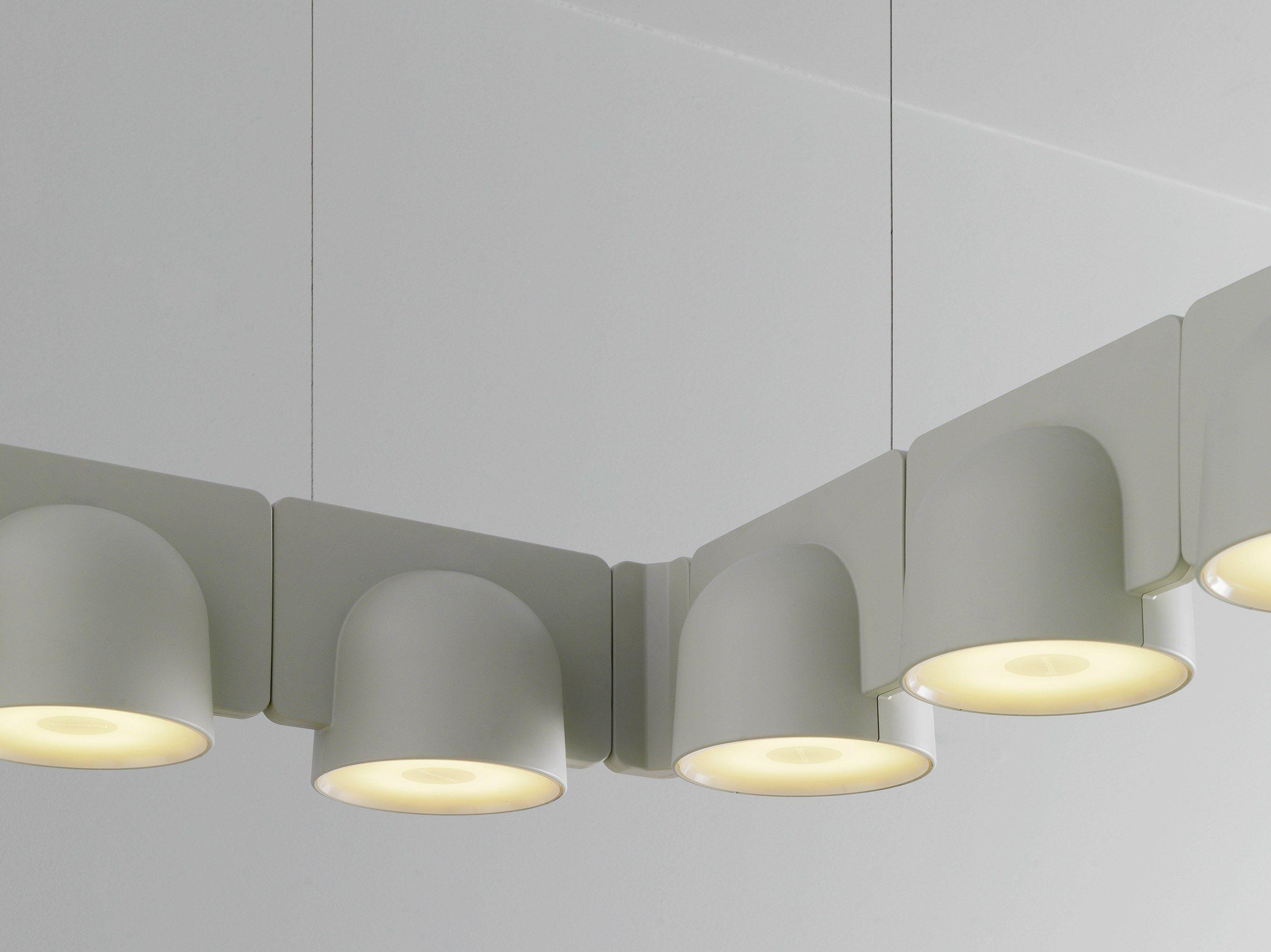 Lampada a sospensione modulare igloo system collezione - Fontana arte corsico ...