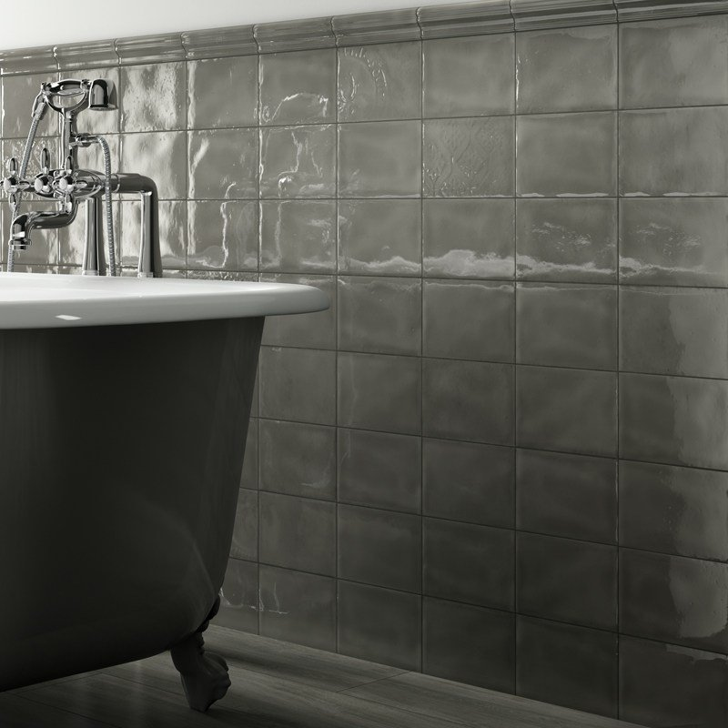 Double fired ceramic wall tiles imola 1874 by cooperativa for Ceramica d imola