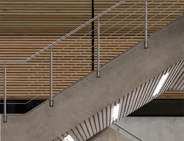 garde corps en acier inoxydable inox20 wire by fontanot spa. Black Bedroom Furniture Sets. Home Design Ideas
