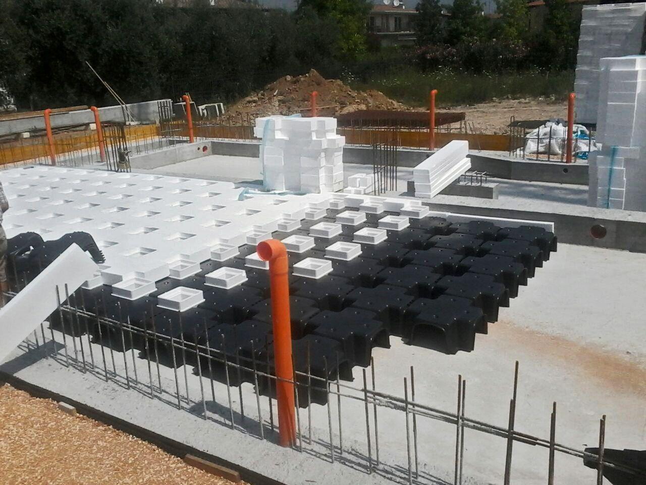 Cupole per vespaio aerato con isolamento termico integrato for Vespaio aerato