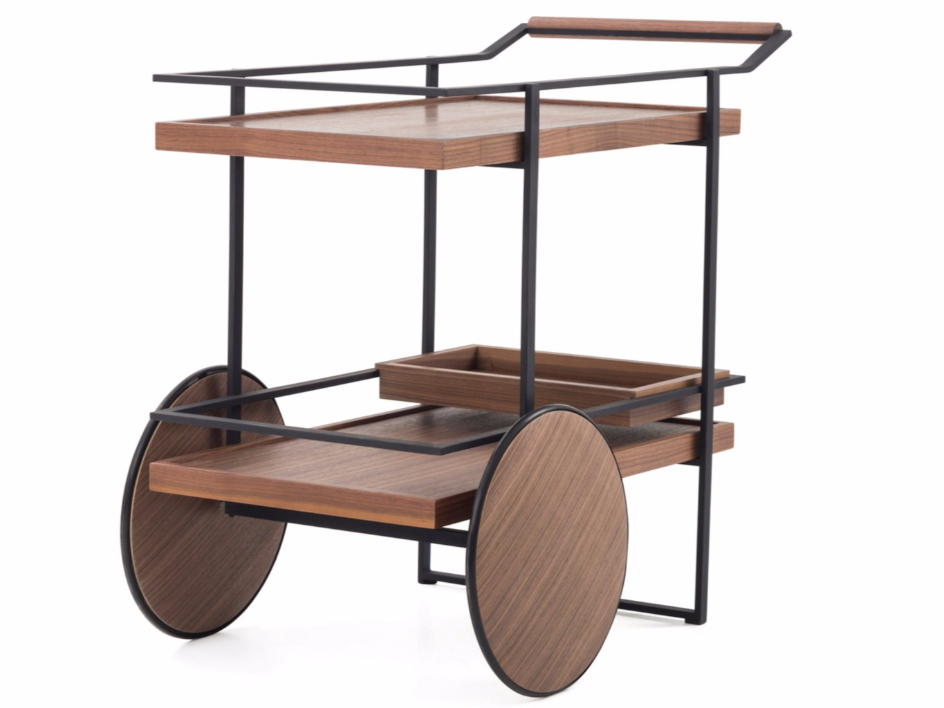 Bar Cart By Stellar Works Design Yabu Pushelberg