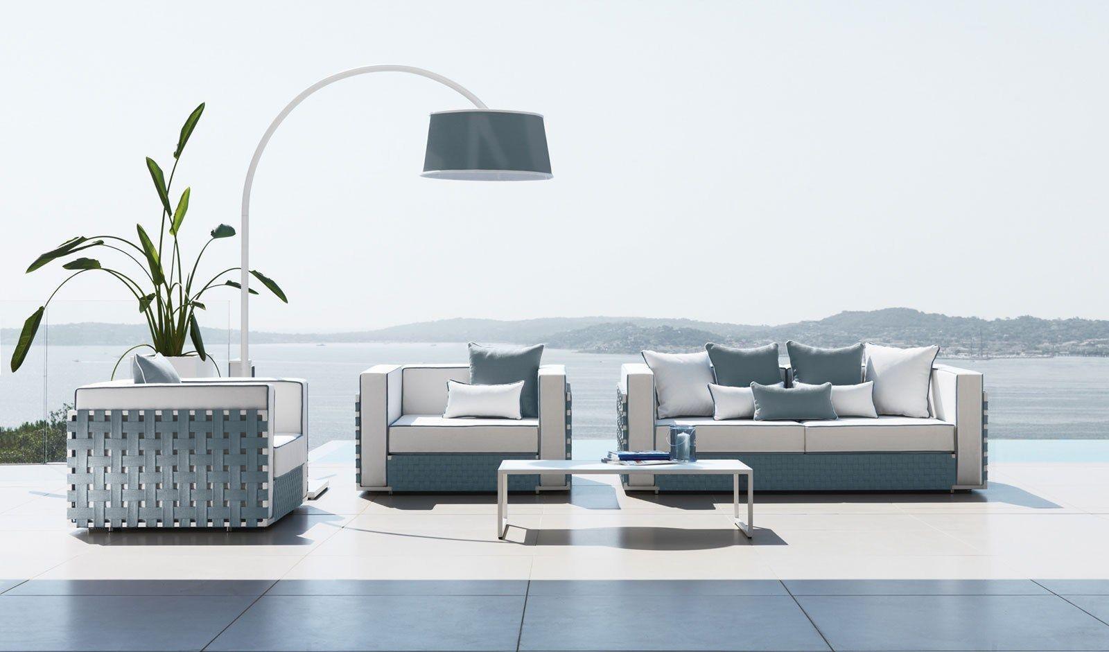 Jane garden sofa by italy dream design for Sofa exterior jardin
