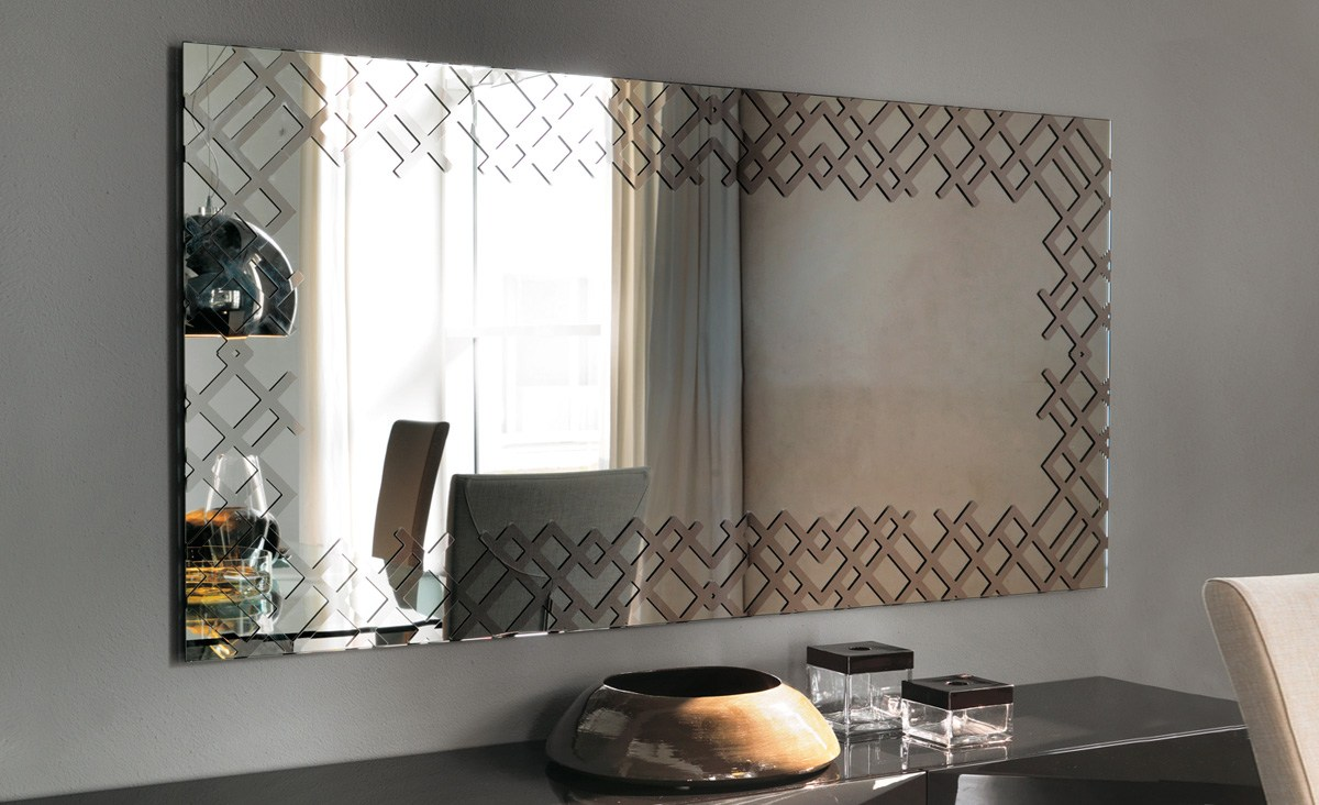 Specchio A Parete Con Cornice Jersey By Cattelan Italia