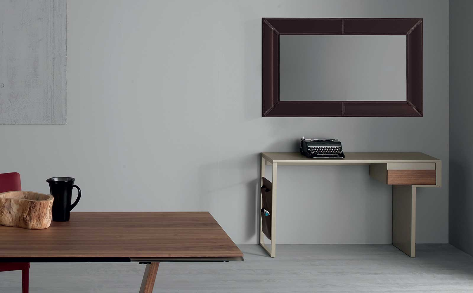 scrivania rettangolare in legno jak scrittoio by italy dream design kallist. Black Bedroom Furniture Sets. Home Design Ideas