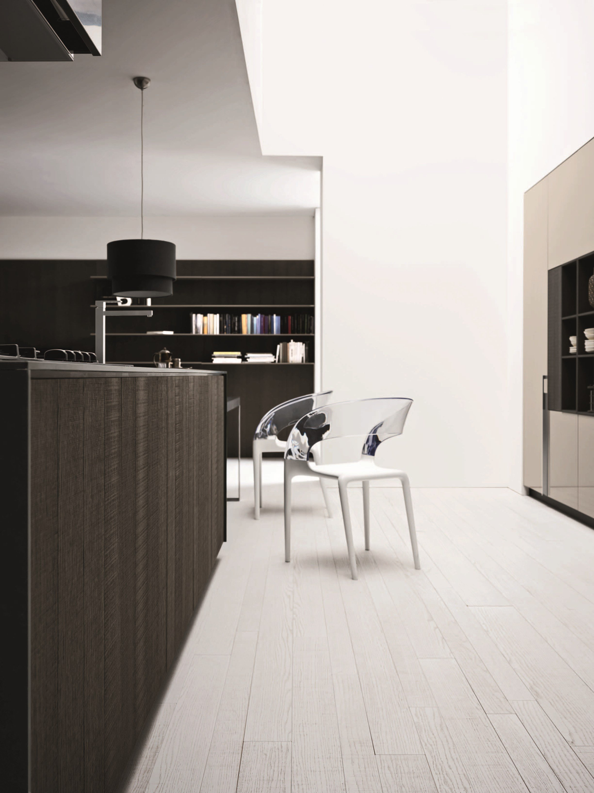 fitted kitchen with island kalea composition 3 by cesar