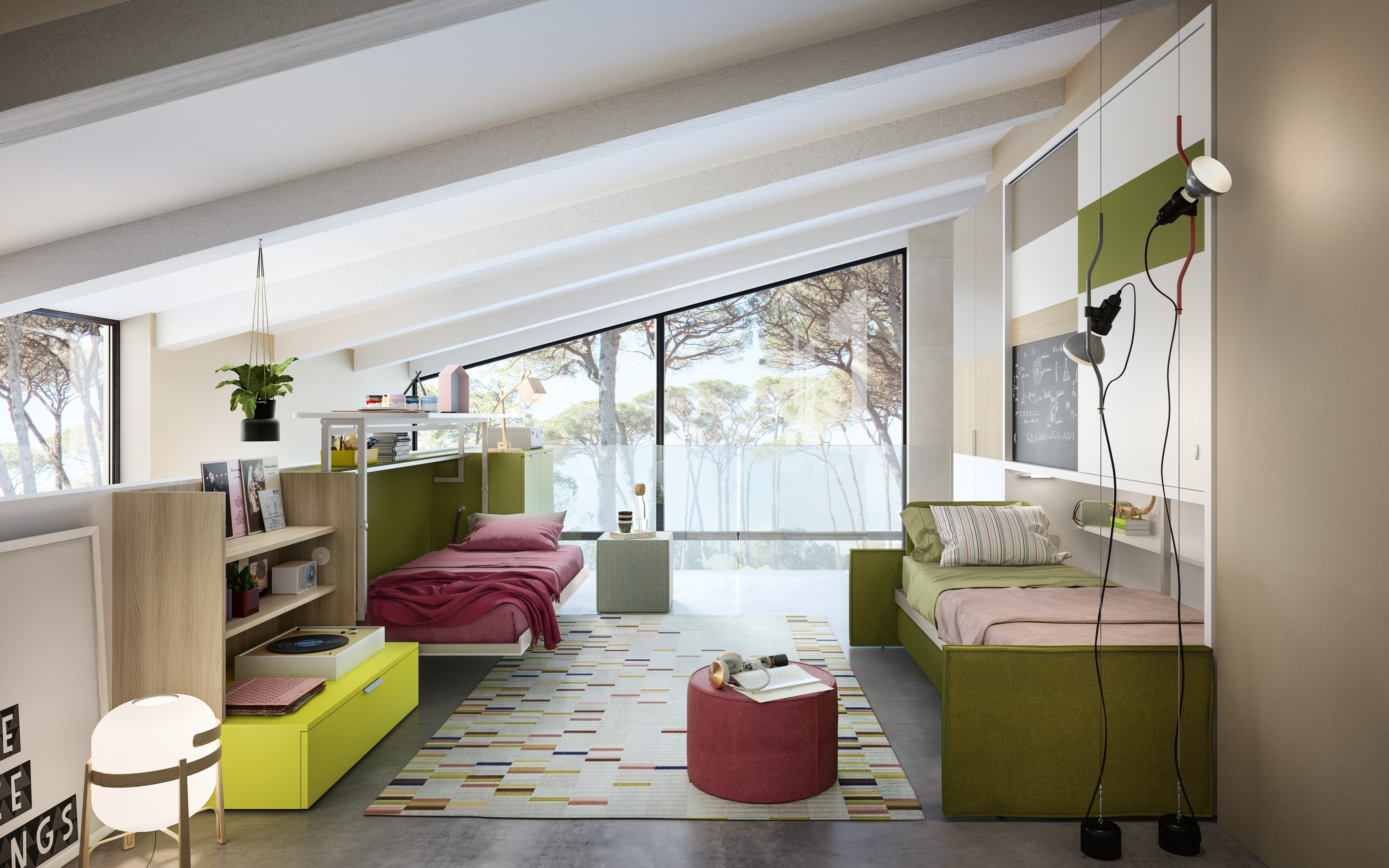 Kali ponte sofa divano by clei - Clei divano letto ...