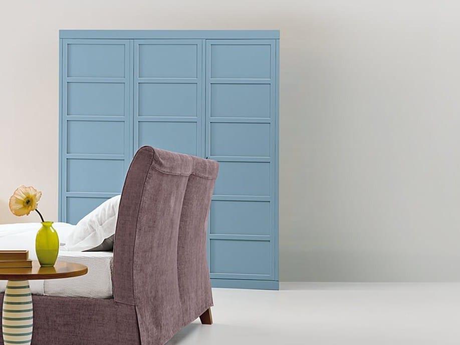 armadio laccato in legno kl 6338 3 by marktex. Black Bedroom Furniture Sets. Home Design Ideas