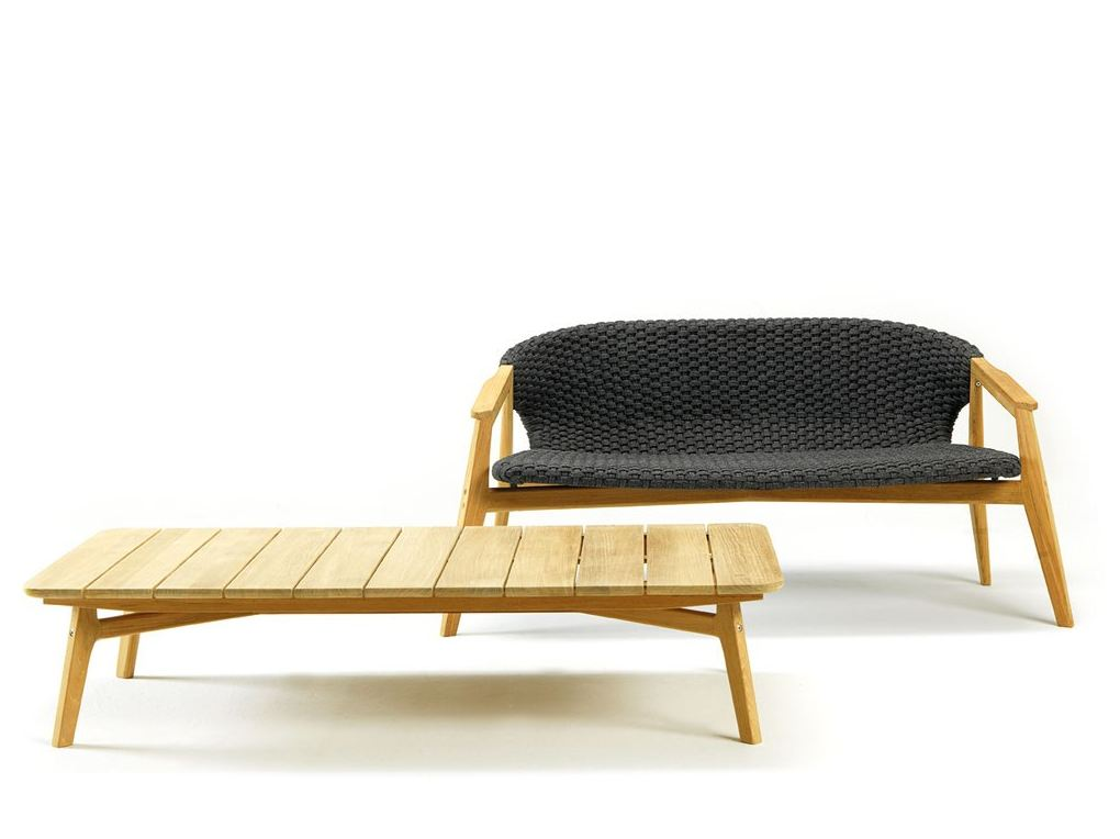 Knit Low Coffee Table By Ethimo Design Patrick Norguet