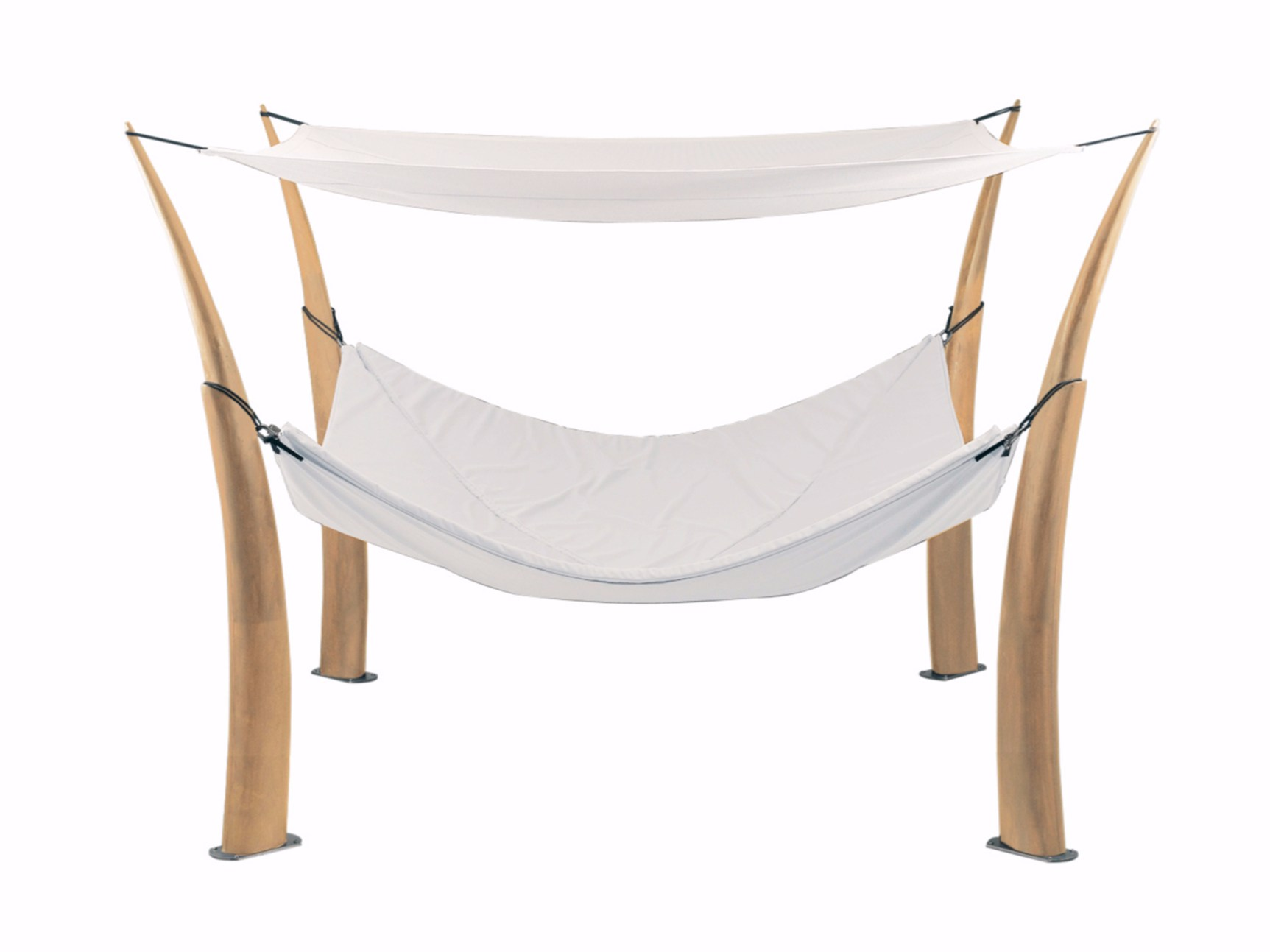 double canopy batyline garden bed kokoon by royal botania