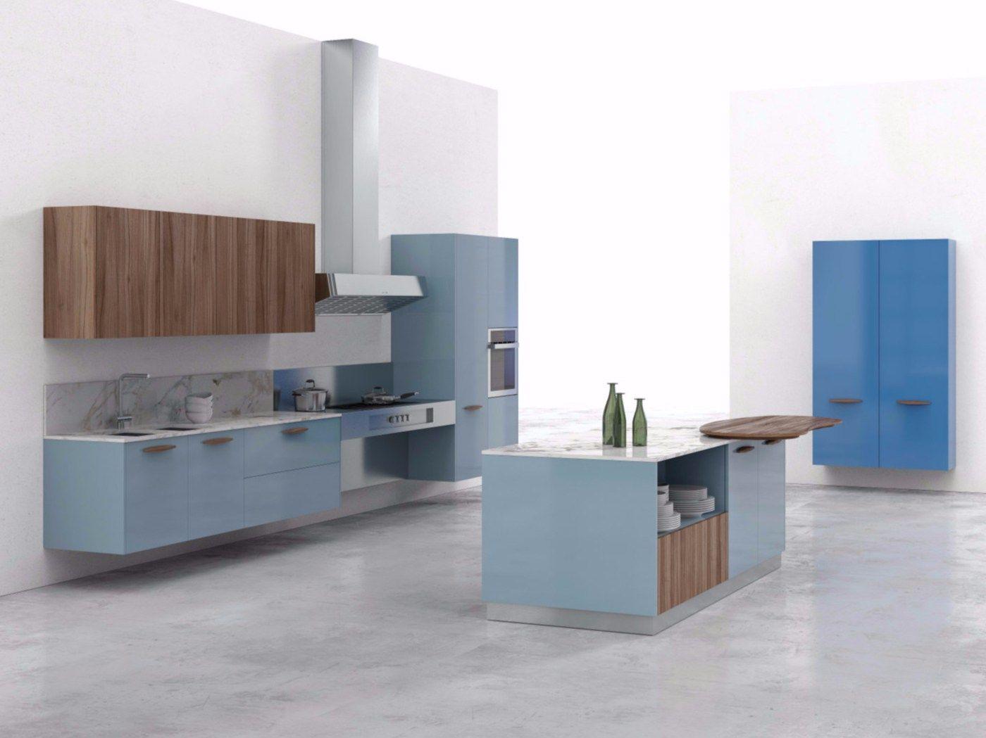 Cucina componibile ks by del tongo design giulio cappellini alfonso arosio - Cappellini cucine prezzi ...