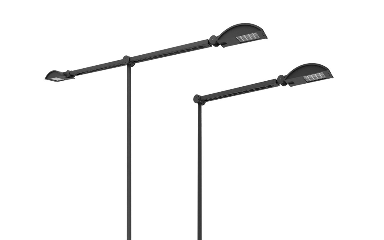 led street lamp kyro led by sbp urban lighting by. Black Bedroom Furniture Sets. Home Design Ideas
