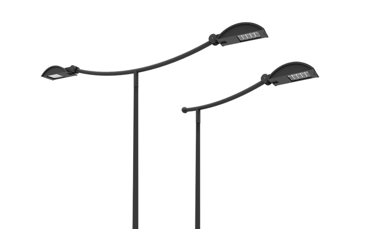 lampadaire urbain led kyro led by sbp urban lighting by. Black Bedroom Furniture Sets. Home Design Ideas