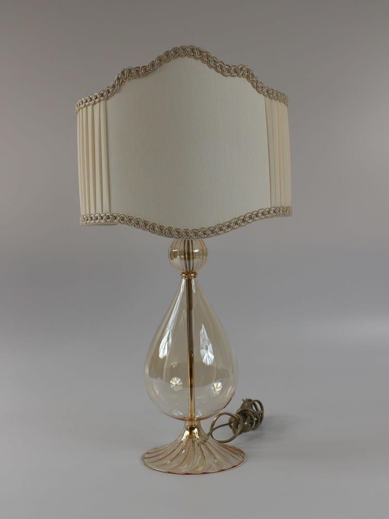 1003 lampada da tavolo in vetro soffiato by ipsilon paralumi - Paralumi per lampade da tavolo ...