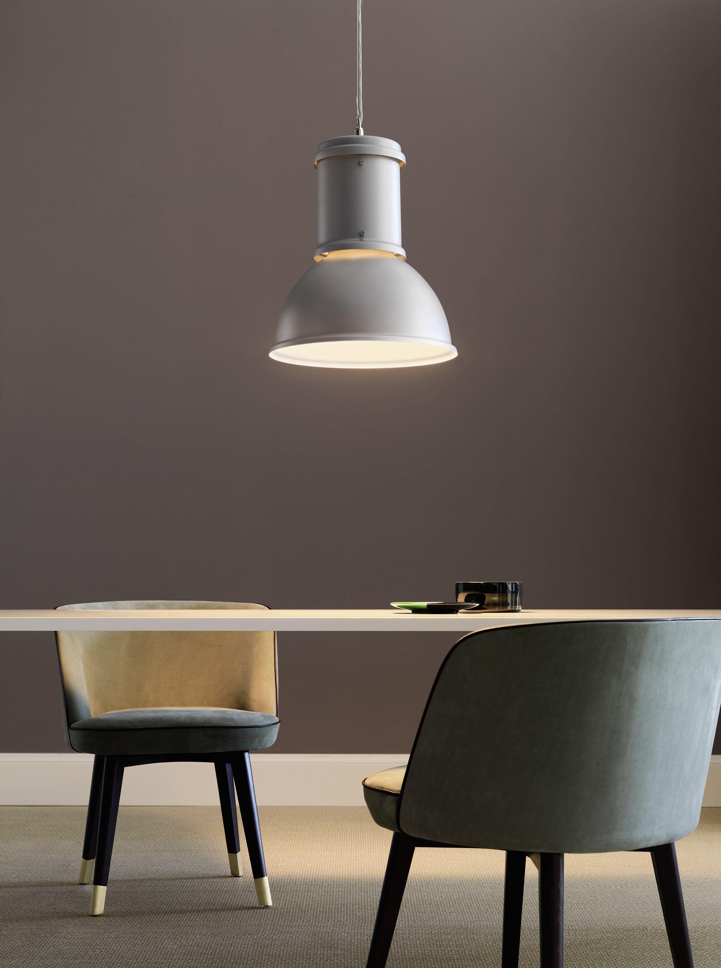 Lampada a sospensione in alluminio lampara by fontanaarte for Lampada ufficio design