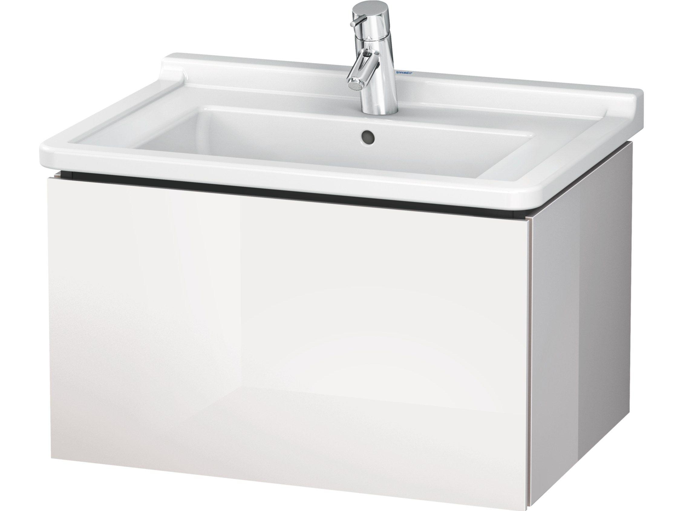 Lc 6164 meuble sous vasque by duravit design christian werner - Meuble sous vasque design ...