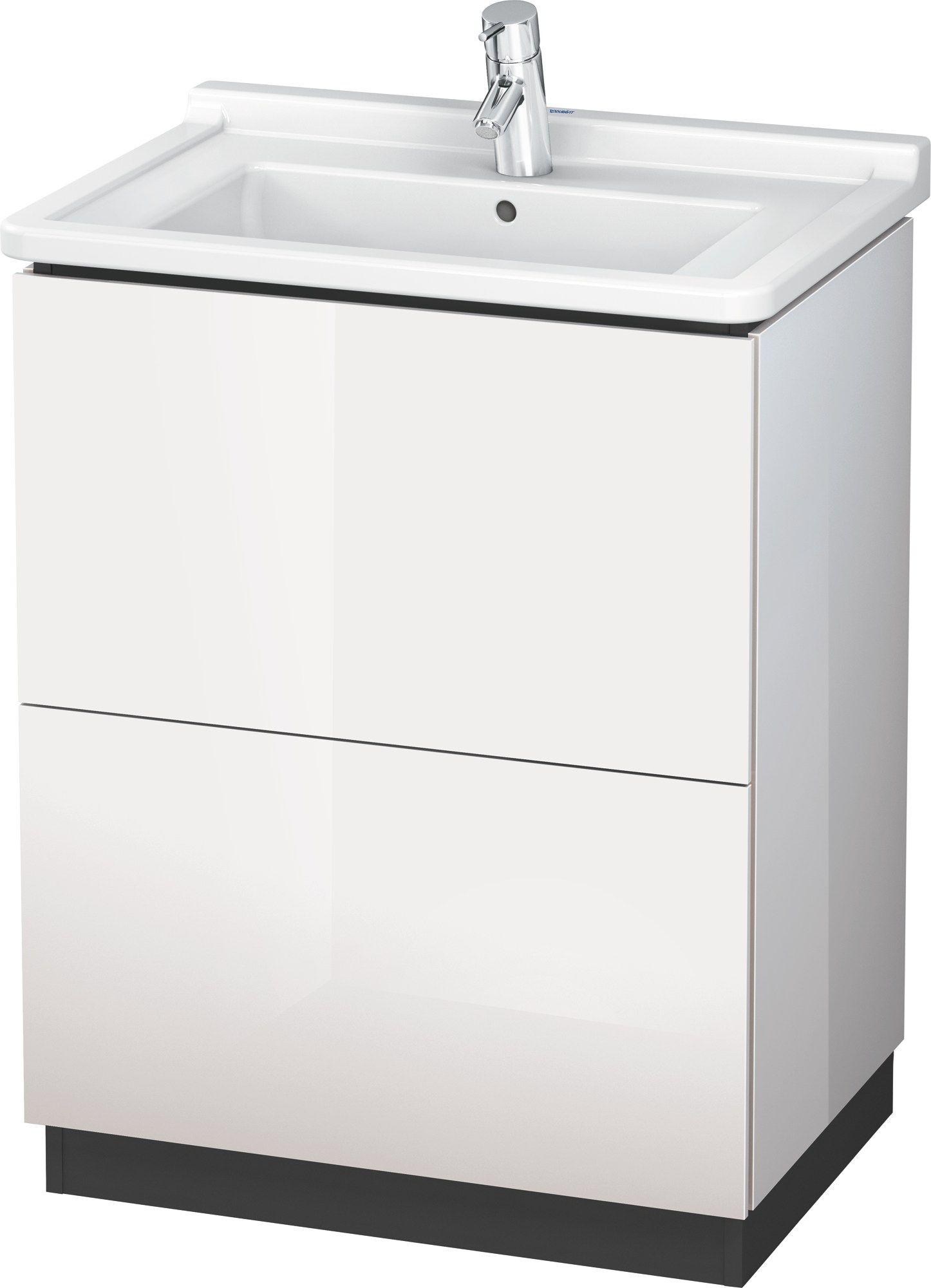 lc 6620 waschtischunterschrank mit schubladen by duravit. Black Bedroom Furniture Sets. Home Design Ideas