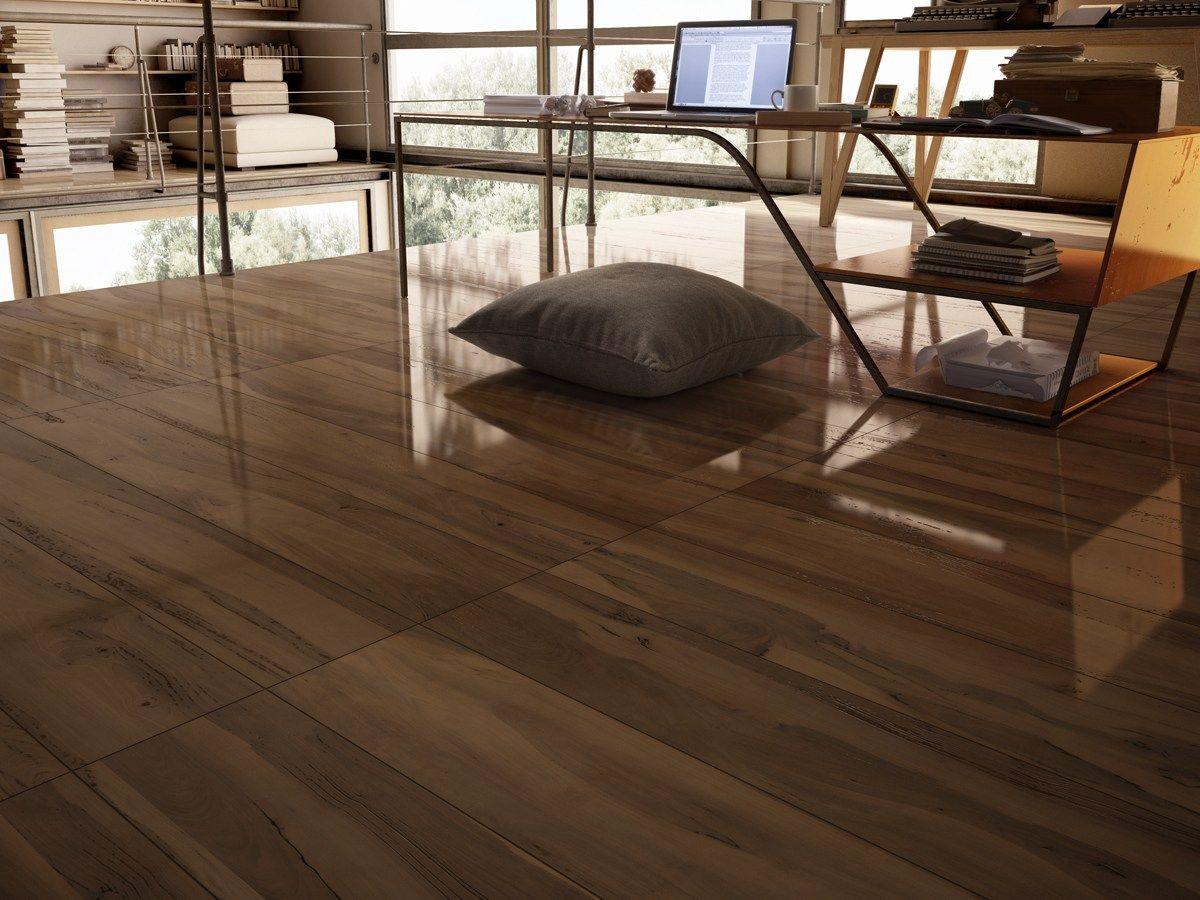Pavimento in gres porcellanato smaltato effetto legno le - Pavimento bagno effetto legno ...