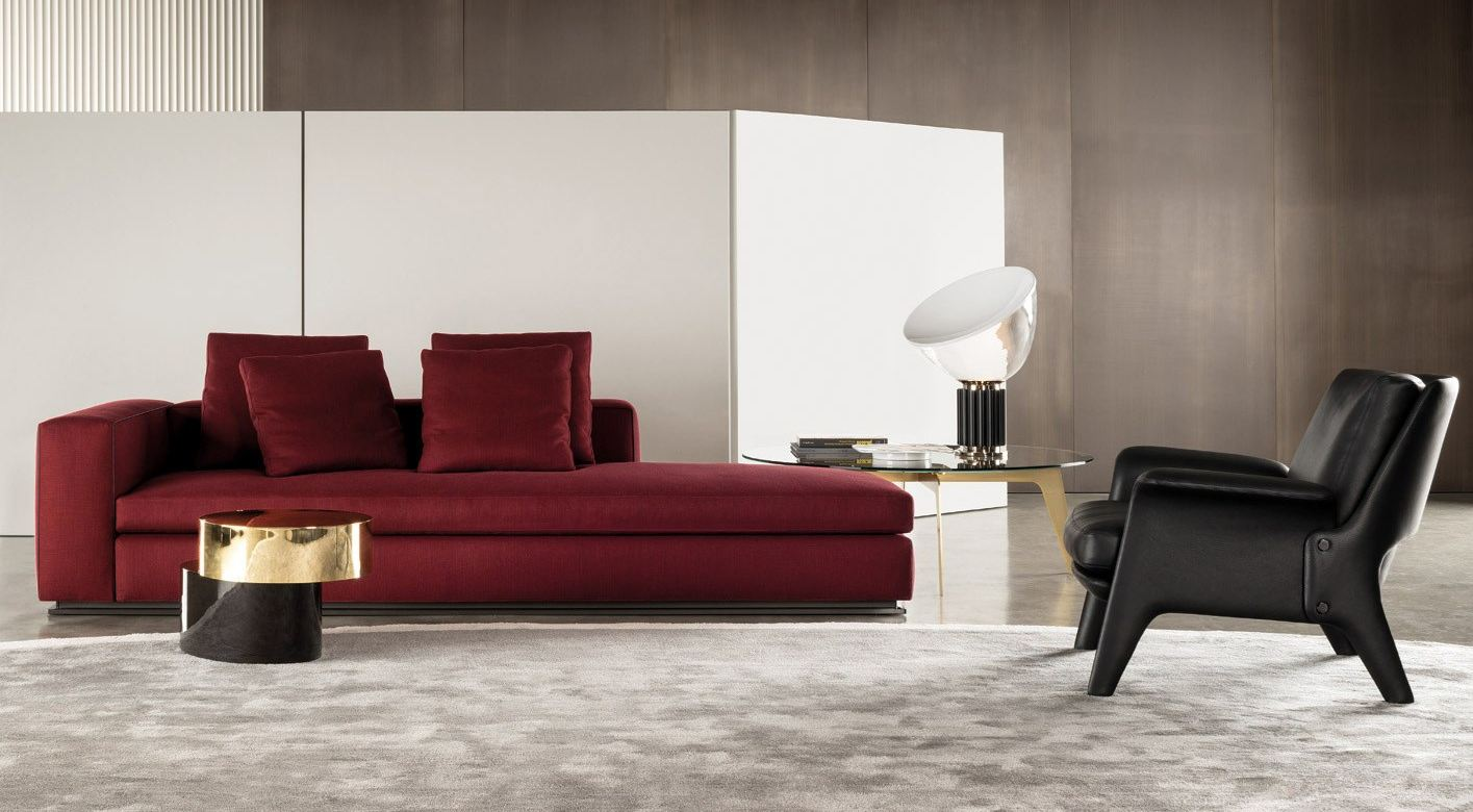 Leonard by minotti design rodolfo dordoni for Living room jazz los angeles
